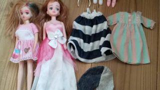 親が子どもの頃遊んでいた「リカちゃん」人形で娘が遊ぶ