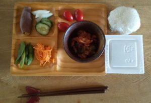 自分の昼ご飯