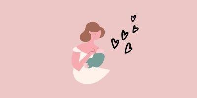 授乳中ママ