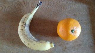 【偏食】HSC偏食息子からの質問。バナナやみかんなどの果物食べればビタミン足りる?
